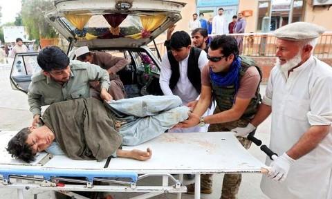 Đánh bom nhà thờ ở Afghanistan, ít nhất 62 người thiệt mạng