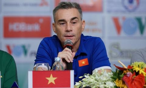 """HLV Miguel Rodrigo:  """"Chúng tôi muốn giành 9 điểm tuyệt đối"""""""