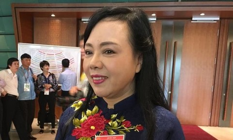 """Bộ trưởng Y tế Nguyễn Thị Kim Tiến: """"Tôi là người bị thị phi"""""""