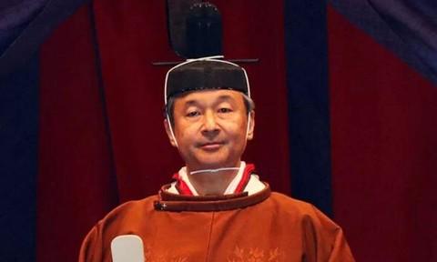 Hình ảnh lễ đăng quang của Nhật hoàng Naruhito