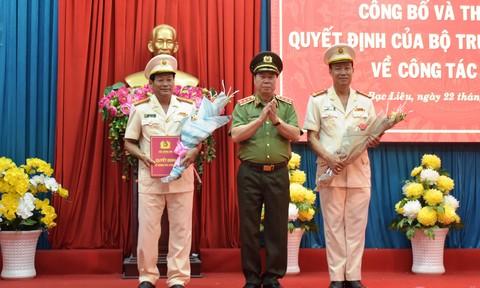 Giám đốc Công an tỉnh Bạc Liêu làm Cục trưởng Cục Tổ chức cán bộ, Bộ Công an