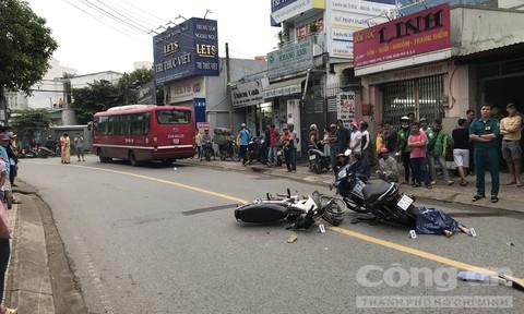 Đặt Grabbike đi công việc, người phụ nữ ở Sài Gòn bị tai nạn chết thảm