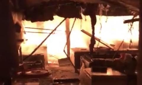 Cháy chợ Phước Long, cứu được số tài sản trị giá 20 tỷ đồng
