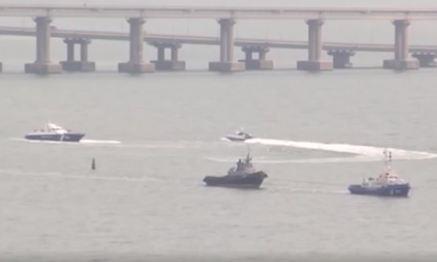 Nga trao trả 3 tàu hải quân cho Ukraine bị bắt tại Crimea