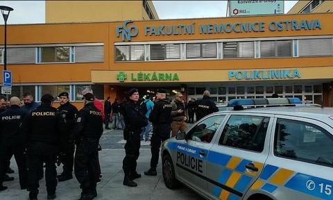 Tấn công bệnh viện ở Czech, 6 người chết