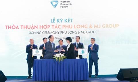 Phú Long và MJ Group hợp tác phát triển dịch vụ chăm sóc sức khoẻ và sắc đẹp