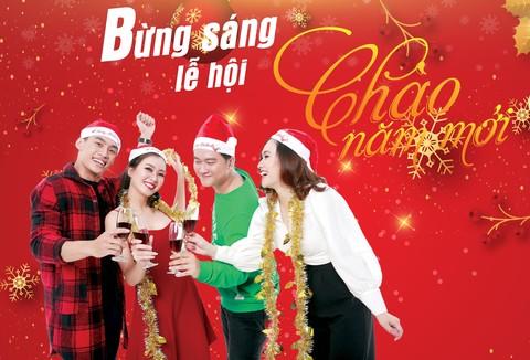 Bừng sáng lễ hội chào năm mới