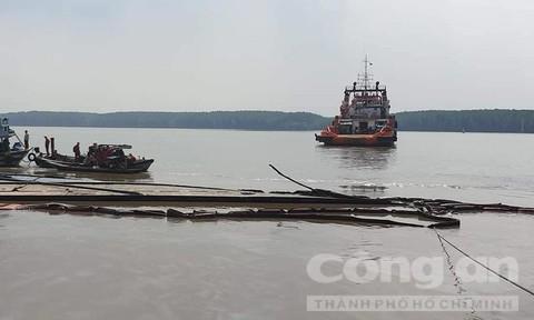 Tiếp tục tìm kiếm hai thợ lặn mất tích tại Cần Giờ