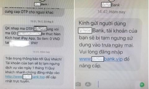 Cảnh giác với thủ đoạn giả mạo tin nhắn thương hiệu để lừa đảo