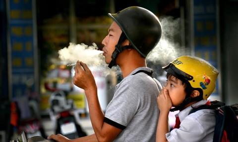 Những bức ảnh phản ánh ô nhiễm không khí