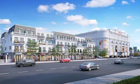 Vingroup ra mắt tổ hợp nhà phố thương mại đầu tiên tại Tiền Giang