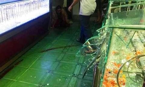Kẻ cướp tiệm vàng lúc chủ tiệm xem trận U22 Việt Nam - Singgapore bị bắt