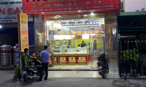 Công an TP.HCM họp báo thông tin vụ cướp tiệm vàng tại Hóc Môn