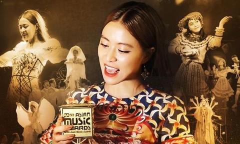 Hoàng Thuỳ Linh nhận giải 'Nghệ sĩ Việt Nam xuất sắc nhất châu Á'