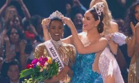 Người đẹp da màu đăng quang Hoa hậu Hoàn vũ thế giới 2019