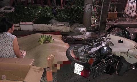 Xe máy tông cột điện, người đàn ông tử vong tại chỗ