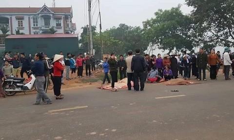 Xe khách tông đoàn xe tang, 5 người chết tại chỗ, 5 người bị thương