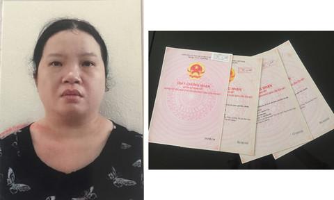 Phạm Thị Thúy Trang và các giấy chứng nhận quyền sử dụng đất giả
