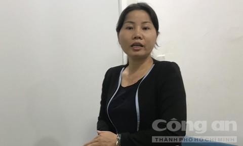 Nguyễn Thị Bích Thuận – Tổng giám đốc Công ty CP đầu tư và phát triển Quảng Đà thời điểm bị bắt giam
