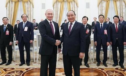 Nga là đối tác tin cậy của Việt Nam trong lĩnh vực quốc phòng, an ninh