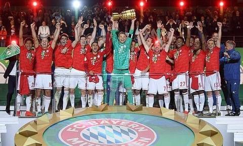 Clip trận Bayern thắng Leipzig 3-0, giành Cúp quốc gia Đức