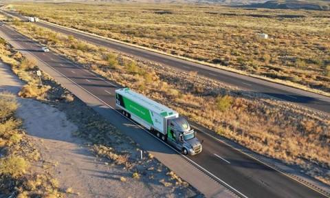 Mỹ thử nghiệm vận chuyển thư tín bằng xe tải không người lái