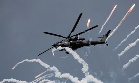 Clip Nga thử nghiệm tên lửa gắn trên trực thăng hủy diệt cao