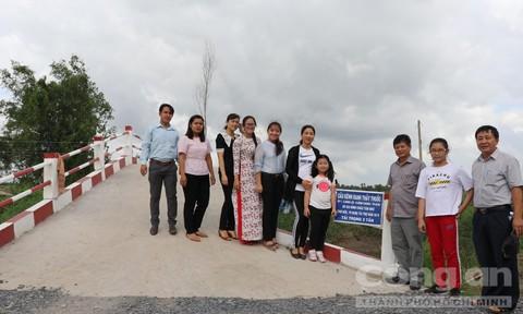 Khánh thành cầu kênh Ranh Thầy Thuốc