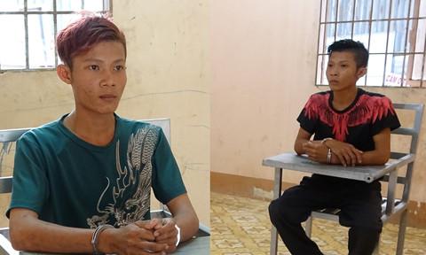 Hai anh em sinh đôi điều tài xế taxi vào đường vắng để cướp