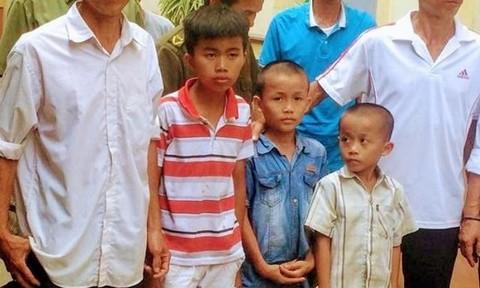 """Sự thật về 3 cháu bé bị """"bắt cóc"""" tại Nghệ An"""