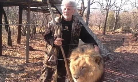 Người nuôi 3 con sư tử bị vồ chết khi sửa chuồng