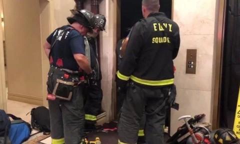 Hy hữu người đàn ông bị thang máy đè chết