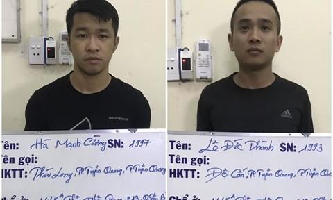 Bắt khẩn cấp hai đối tượng cho vay nặng lãi ở Sài Gòn