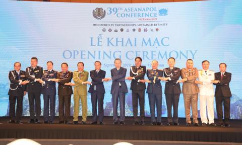 Khai mạc Hội nghị Tư lệnh Cảnh sát các nước Đông Nam Á lần thứ 39