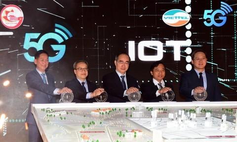 TPHCM trở thành địa phương đầu tiên trong cả nước phủ sóng 5G
