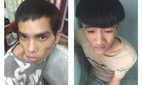 """Hai thanh niên mang """"hàng nóng"""" đi trộm"""