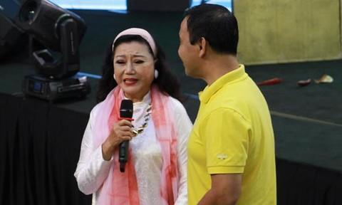 NSND Kim Cương nhập viện
