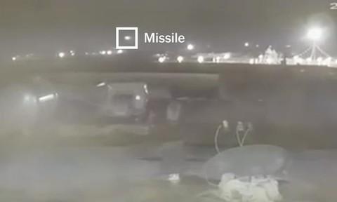 Clip mới về khoảnh khắc tên lửa Iran bắn rơi máy bay Ukraine