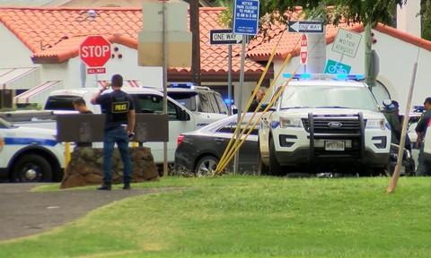 Xả súng ở Hawaii khiến 2 cảnh sát thiệt mạng