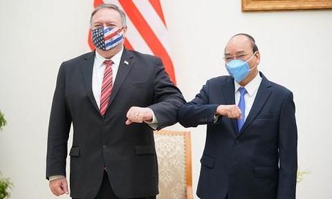 Quan hệ Việt Nam-Hoa Kỳ đạt được những bước phát triển toàn diện