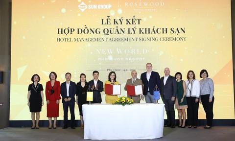 Rosewood Hotel Group sẽ quản lý New World Phu Quoc Resort