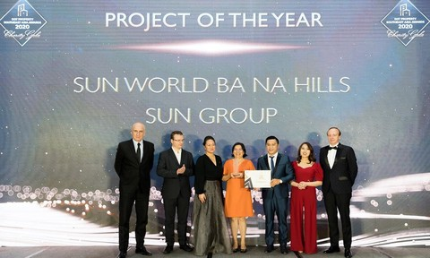 Dot Property Awards 2020 vinh danh Sun Group và Sun World Ba Na Hills