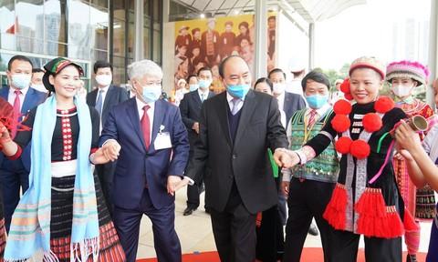 Khai mạc trọng thể Đại hội đại biểu toàn quốc các dân tộc thiểu số
