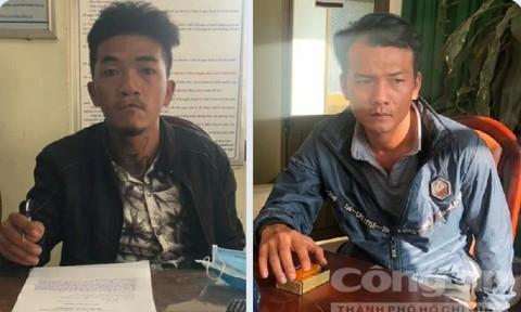 Quần chúng cảnh giác giúp Công an bắt 2 tên trộm xe chuyên nghiệp