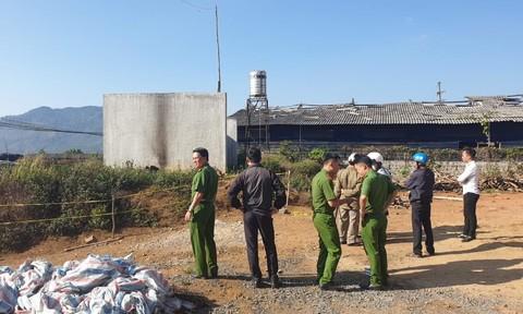 Người đàn ông chết cháy ở Bảo Lộc nghi do tự thiêu