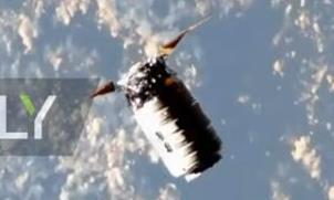 Cận cảnh phi thuyền Cygnus chở đồ tiếp tế lên Trạm Vũ trụ quốc tế