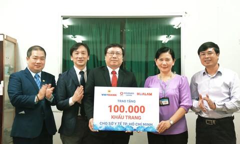 Tài trợ 100.000 khẩu trang cho Sở Y tế TP.Hồ Chí Minh