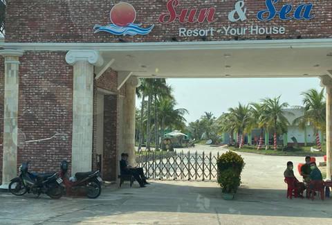 Sun And Sea Resort – nơi chăm sóc, cách ly 14 người tiếp xúc với ca nhiễm Covid-19 thứ 30 (là nữ du khách 66 tuổi quốc tịch Anh).