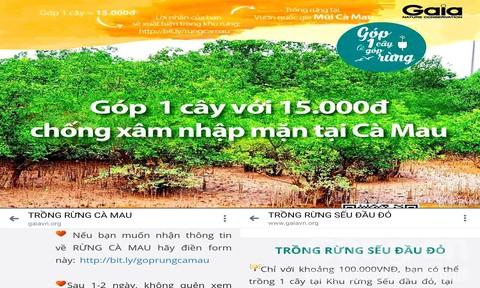 """Vận động """"quỹ trồng rừng"""" trong các VQG, nhưng chủ rừng không hề biết!"""
