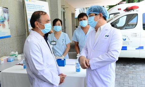 Bệnh viện FV được cấp phép thực hiện xét nghiệm Covid-19